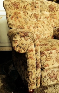chair, recliner, Perspective, View